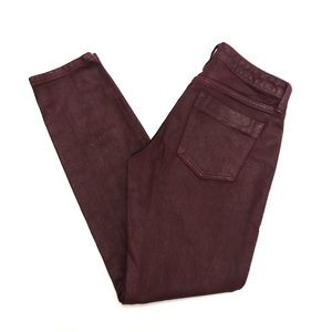 Banana Republic Coated Skinny Pants Size 26